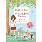 Belle & Boo My Favorite Things Activity Book