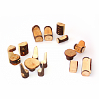 Wooden Tree Cottage Furniture Set