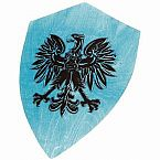 Large Shield, Blue, Assorted