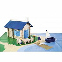 Seaside Cottage - 135 Pieces