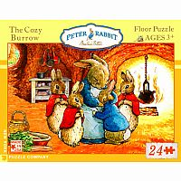 Peter Rabbit The Cozy Burrow 24-Piece Floor Puzzle