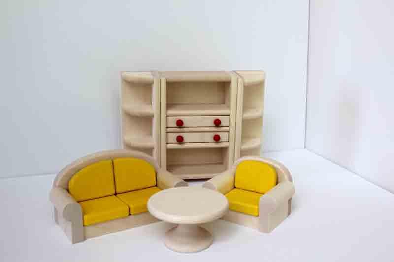 Bodo Hennig dollhouse family room bambino by bodo hennig goose toys