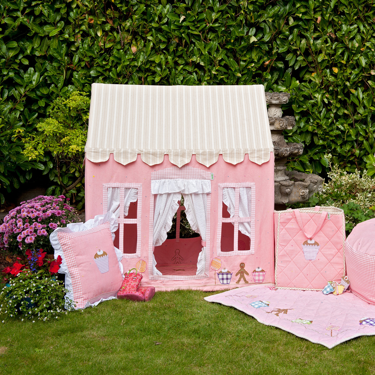 Gingerbread Cottage Playhouse Little Goose Toys