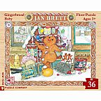 Jan Brett's Gingerbread Baby 36-Piece Floor Puzzle