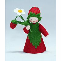 Wild Strawberry Prince Felt Doll