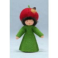 Apple Prince Felt Doll