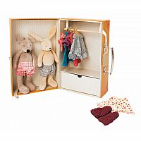 Little Bunny and Mouse Armoire by Moulin Roty