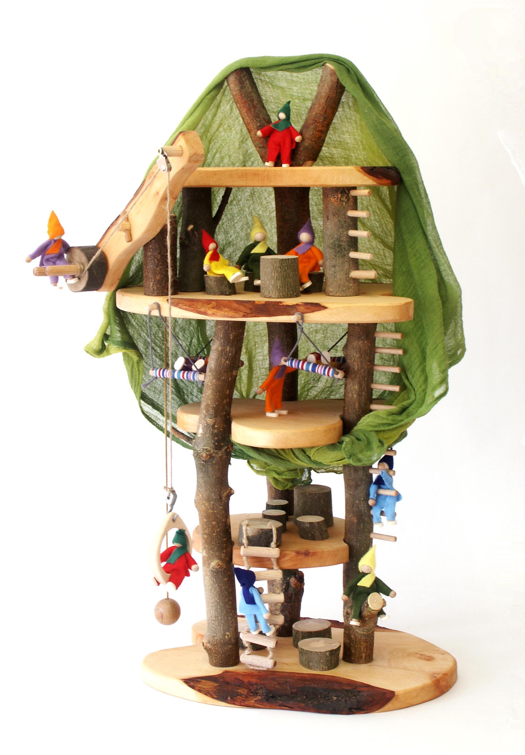 Tree House Dolls Little Goose Toys