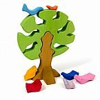 Wooden Bird Tree