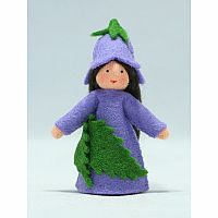 Bluebell Fairy Felt Doll