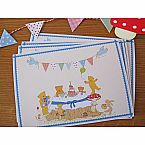 Teddy Bear Picnic, Blue - Invitations by Bumpkin