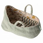 Maileg Carry Cot, Dusty Green