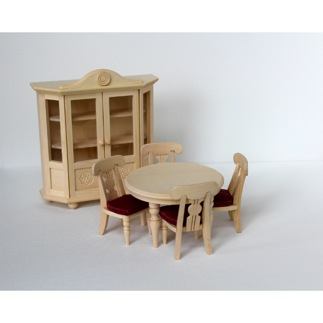 Dollhouse Kitchen Chairs Wood