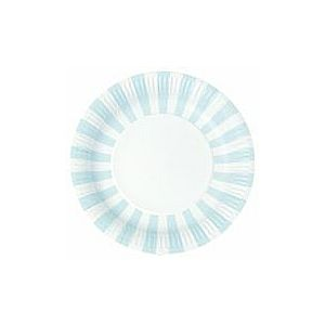 Powder Blue Paper Plates