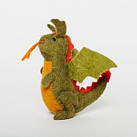Fairytale Felt Dragon