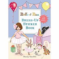 Belle & Boo Dress-Up Sticker Book