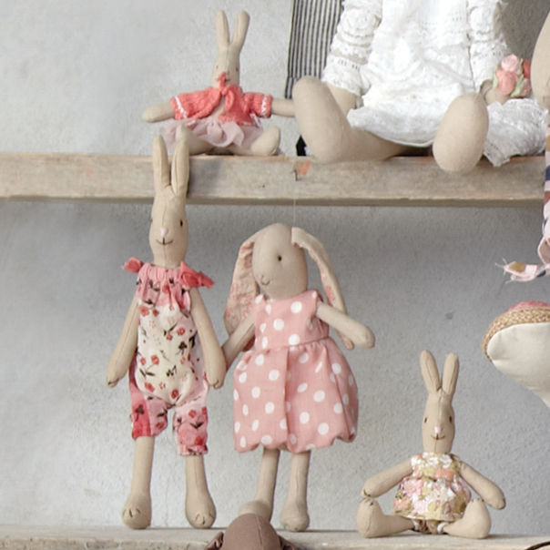 Maileg Micro Baby Bunny Little Goose Toys