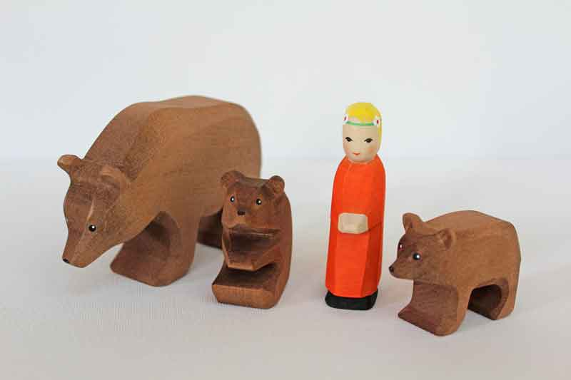 Goldilocks And The Three Bears Set Little Goose Toys