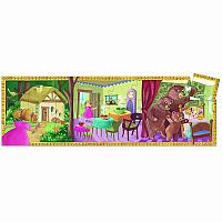 Goldilocks and the 3 Bears Puzzle, 24 Piece