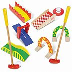 Wooden Miniature Golf Set