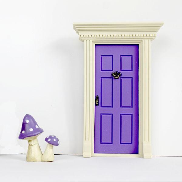 39 lil fairy door purple little goose toys for Purple fairy door