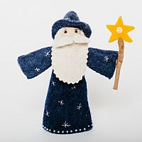 Merlin Wizard Felt Doll