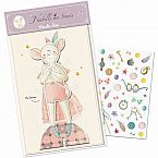 Mouse Paper Doll with Outfits by Moulin Roty