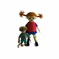 Pippi and Mr. Nilsson Dolls