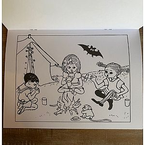 Pippi Longstocking Coloring Book