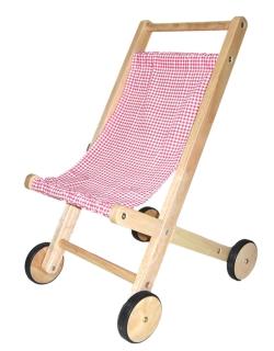 Wooden Doll Stroller - Little Goose Toys
