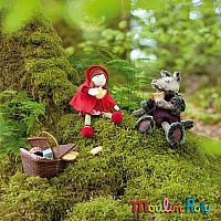 Charles The Wolf by Moulin Roty