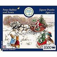 Peter Rabbit and Santa 1000 Piece Puzzle