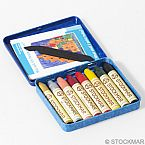 Stockmar Wax Stick Crayons - 8 Sticks