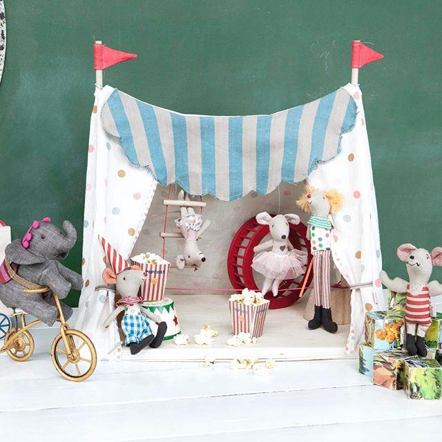 Maileg Circus Tent Little Goose Toys