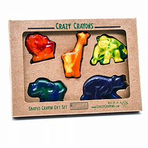 Crazy Crayons Zoo Animal Set